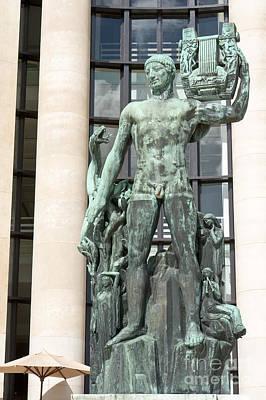 Apollo Leader Of The Muses Art Print by Fabrizio Ruggeri