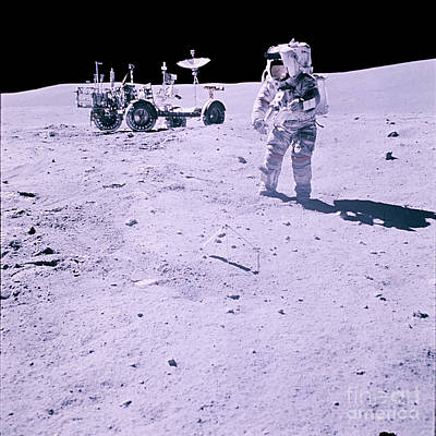 M 16 Photograph - Apollo Mission 16 by Nasa