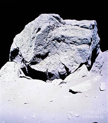 Photograph - Apollo Mission 17 by Nasa