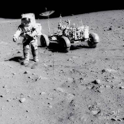 Apollo 15  - Apollo Moon Landing by NASA / Science Source