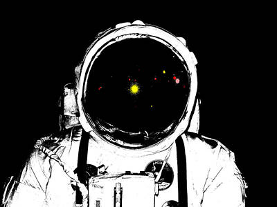Apollo Spacesuite Art Print by James Hill