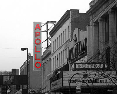 Apollo Theater In Harlem New York No.1 Art Print by Ms Judi