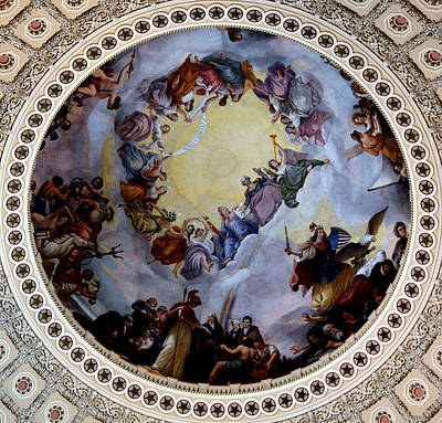 Art Print featuring the photograph Apothesis Of Washington by Pravine Chester