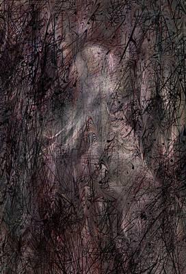 Spooks Digital Art - Apparition by Rachel Christine Nowicki