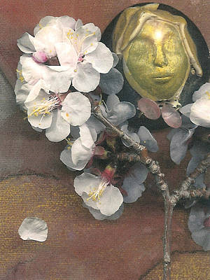 Apple Blossom Dreaming Art Print by George  Page