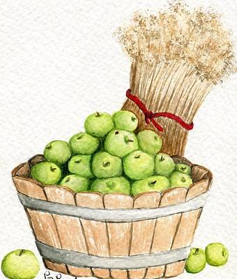 Apple Crate Art Print