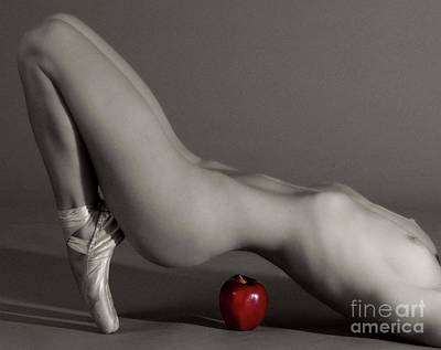 Photograph - Apple Dancer by Angelique Olin