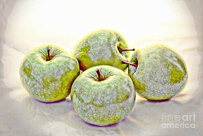 Apple Dust Art Print by David Taylor