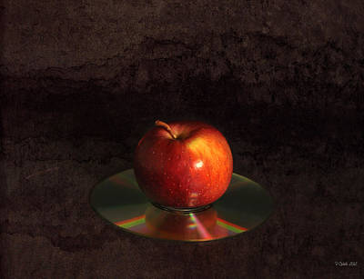 Apple Art Print by Peter Chilelli
