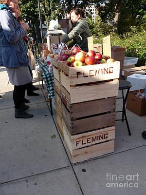 Photograph - Apple Picking by David Bearden