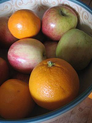 Photograph - Apples And Oranges by Deb Martin-Webster