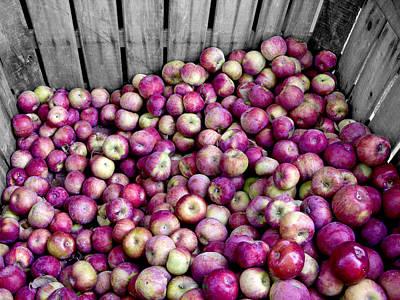 Photograph - Apples by Bennie Reynolds