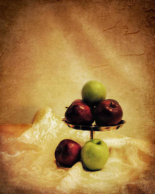 Photograph - Apples by Jai Johnson