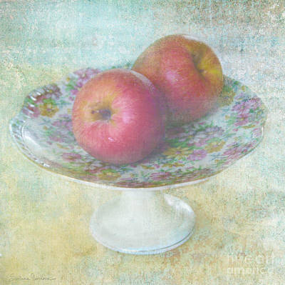 Austin Mixed Media - Apples Still Life Print by Svetlana Novikova