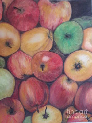 Painting - Apples by Suzette Kallen