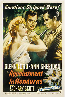 Postv Photograph - Appointment In Honduras, Ann Sheridan by Everett