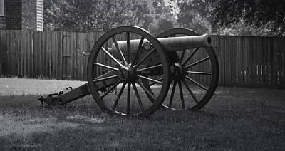 Appomattox Cannon Art Print by Teresa Mucha