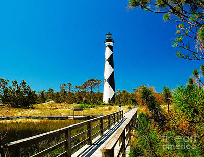 Photograph - Approach To Cape  Lookout by Nick Zelinsky
