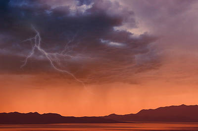 Photograph - Approaching Rain Storm by Utah Images