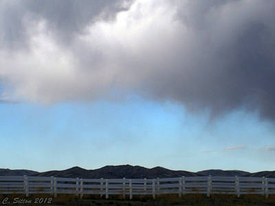 Photograph - Approaching Storm by C Sitton