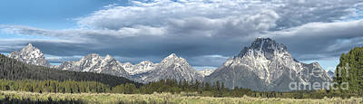 Photograph - Approaching Storm In The Tetons by Sandra Bronstein