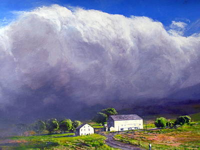Painting - Approaching Storm by Milan Melicharek
