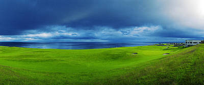 Photograph - Approaching Storm Over Brora Gc by Jan W Faul
