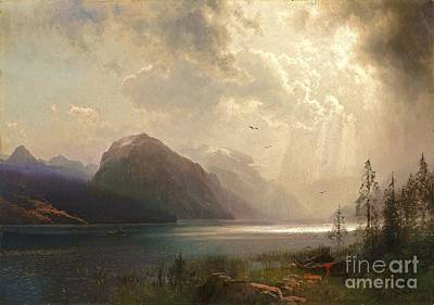 Painting - Approaching Storm by Pg Reproductions