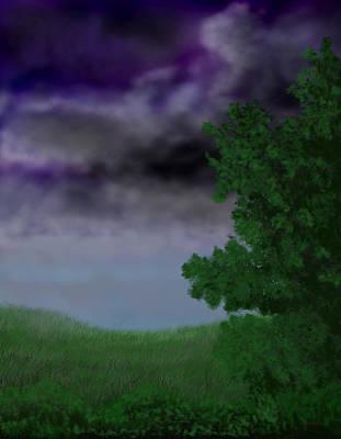 Approaching Storm Art Print by Tim Stringer