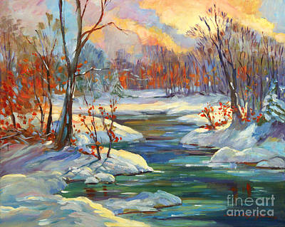 Most Popular Painting - Approaching Winter by David Lloyd Glover
