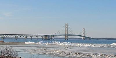 Photograph - April At Mackinac by Keith Stokes