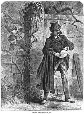 April Fools Day, 1867 Print by Granger