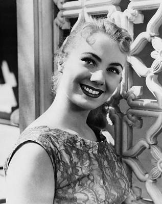 1957 Movies Photograph - April Love, Shirley Jones, 1957 by Everett