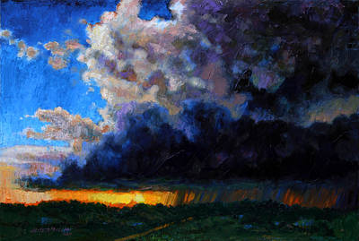 Painting - April Showers by John Lautermilch