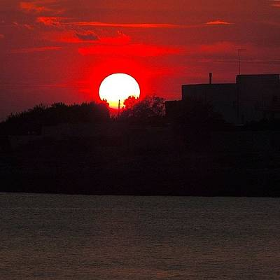 Still Life Photograph - Apulian Sunset by Chi ha paura del buio NextSolarStorm Project
