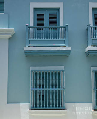 Photograph - Aqua Blue by Timothy Johnson