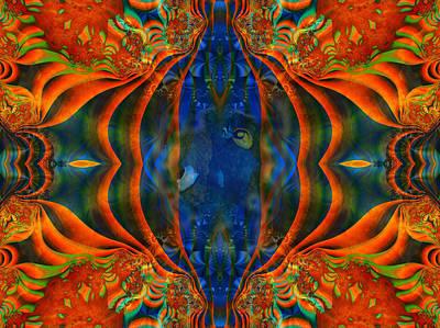 Mixed Media - Aquarium by Connie Dye