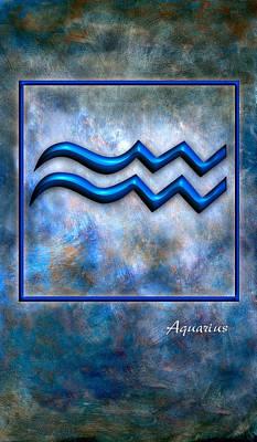 Aquarius  Art Print by Mauro Celotti