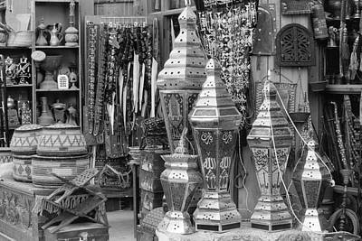 Souq Photograph - Arab Bazaar by Paul Cowan