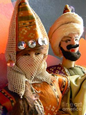 Doll Photograph - Arabian Dolls by Anita V Bauer