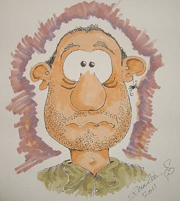 Worry Mixed Media - Arachnaphobia by Paul Chestnutt