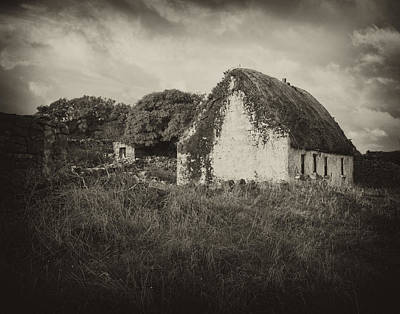 Ireland Photograph - Aran Island Home by Hugh Smith