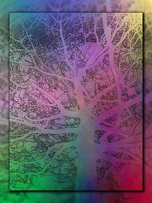 Digital Art - Arboreal Mist 1 by Tim Allen