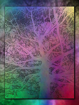 Digital Art - Arboreal Mist 3 by Tim Allen