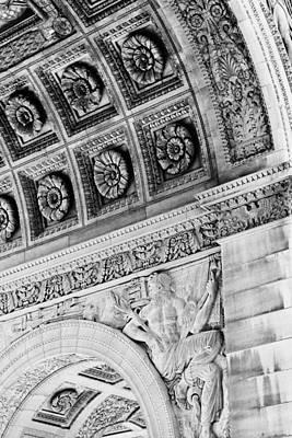 Photograph - Arc De Triomphe Du Carrousel by Tony Grider