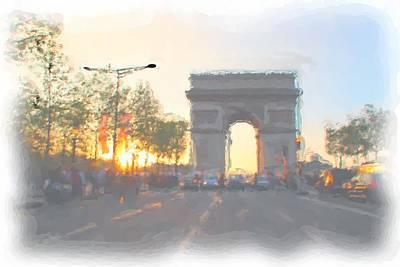 Arc De Triomphe I Art Print by Thomas Frias