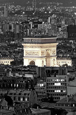Photograph - Arc The Triomphe  by Pierre Leclerc Photography