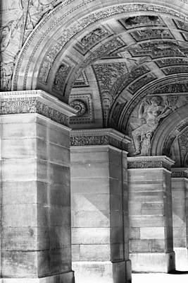 Photograph - Arc  Triomphe Carrousel Two by Tony Grider