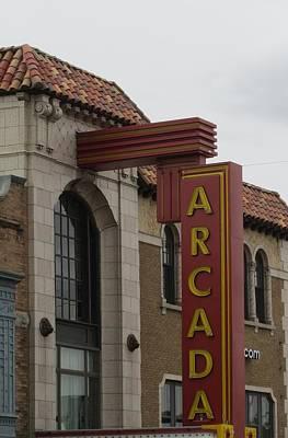 Photograph - Arcada Theatre by Todd Sherlock
