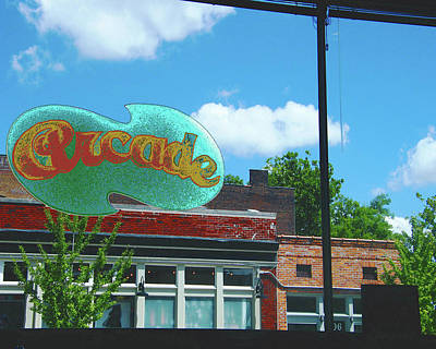 Digital Art - Arcade Restaurant Memphis by Lizi Beard-Ward